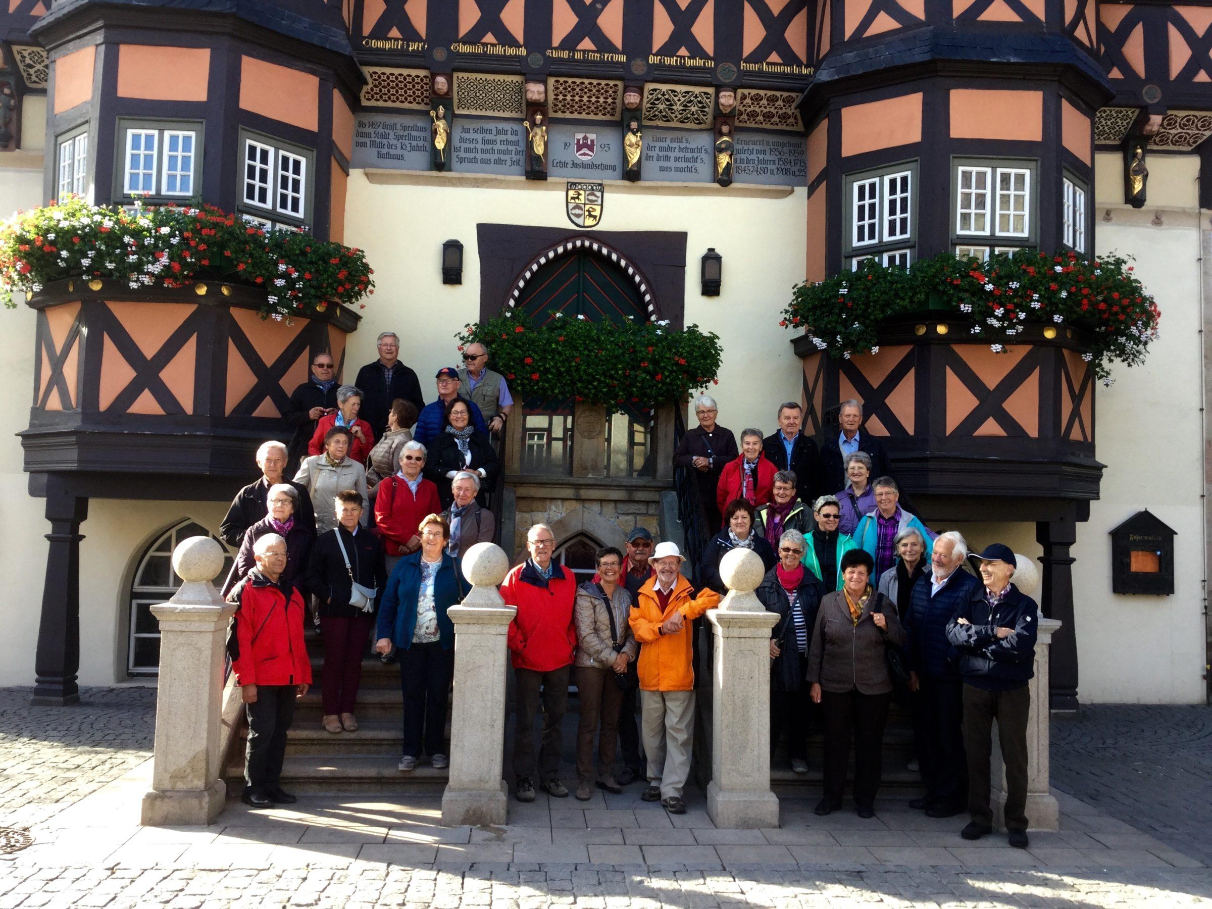 Herbstausflug des Seniorenbundes Weiler in den Harz