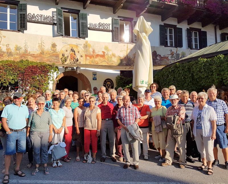 Herbstausflug des Seniorenbundes Weiler ins Salzburger Land