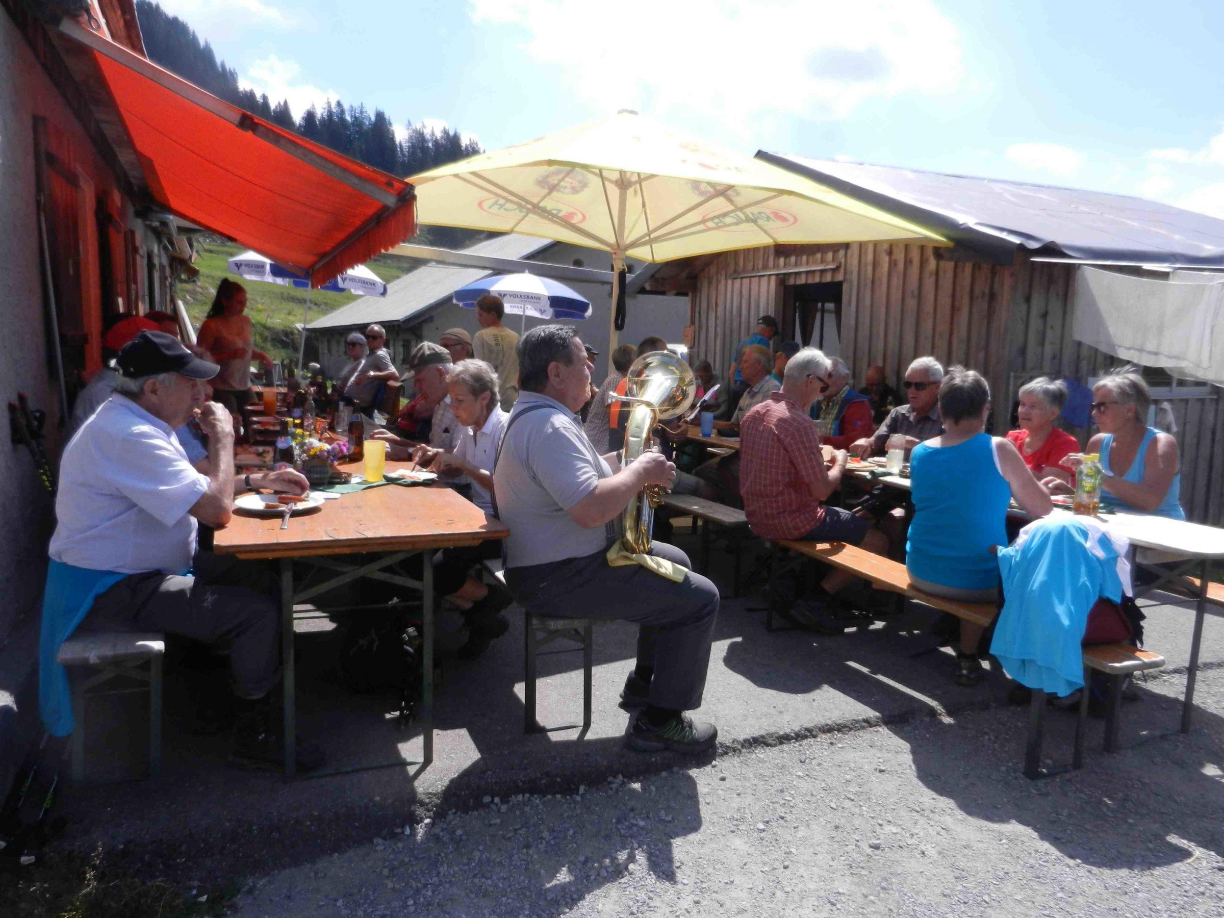 Wandertag zur Alpe Saluver im Laternsertal am 20.7.2018
