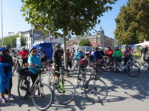 Radfahren beim Seniorenbund Höchst