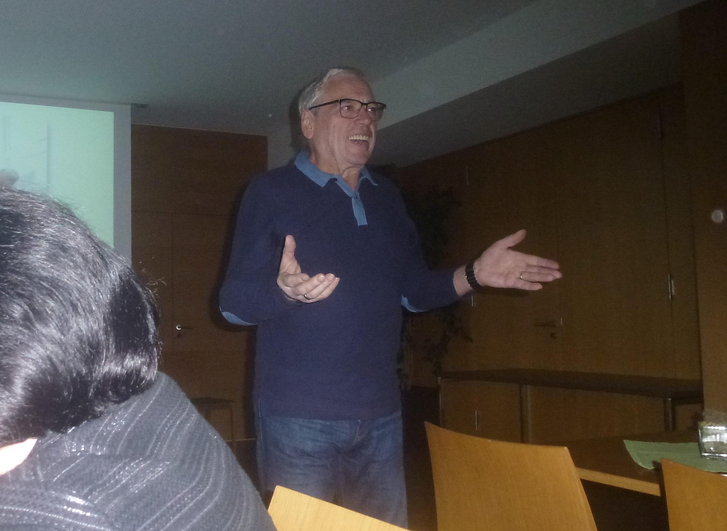 Dr. Martin Frei zu Gast bei den Koblacher Senioren