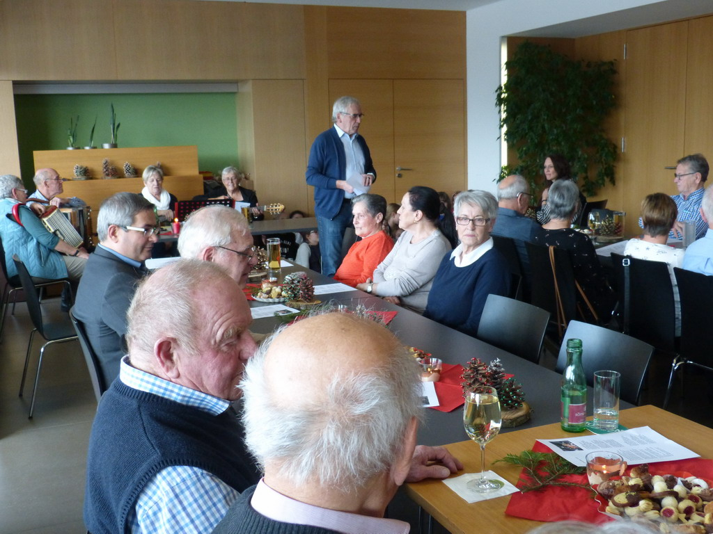 Koblacher Seniorenbund in feierlicher Adventstimmung