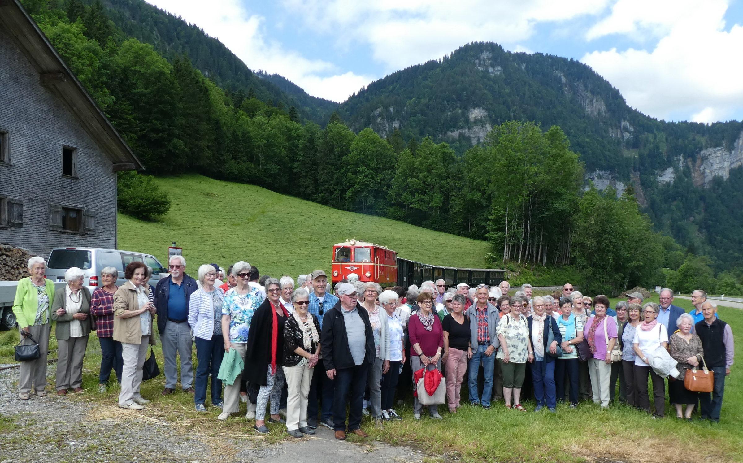 Fahrt ins Blaue mit dem Seniorenbund Götzis