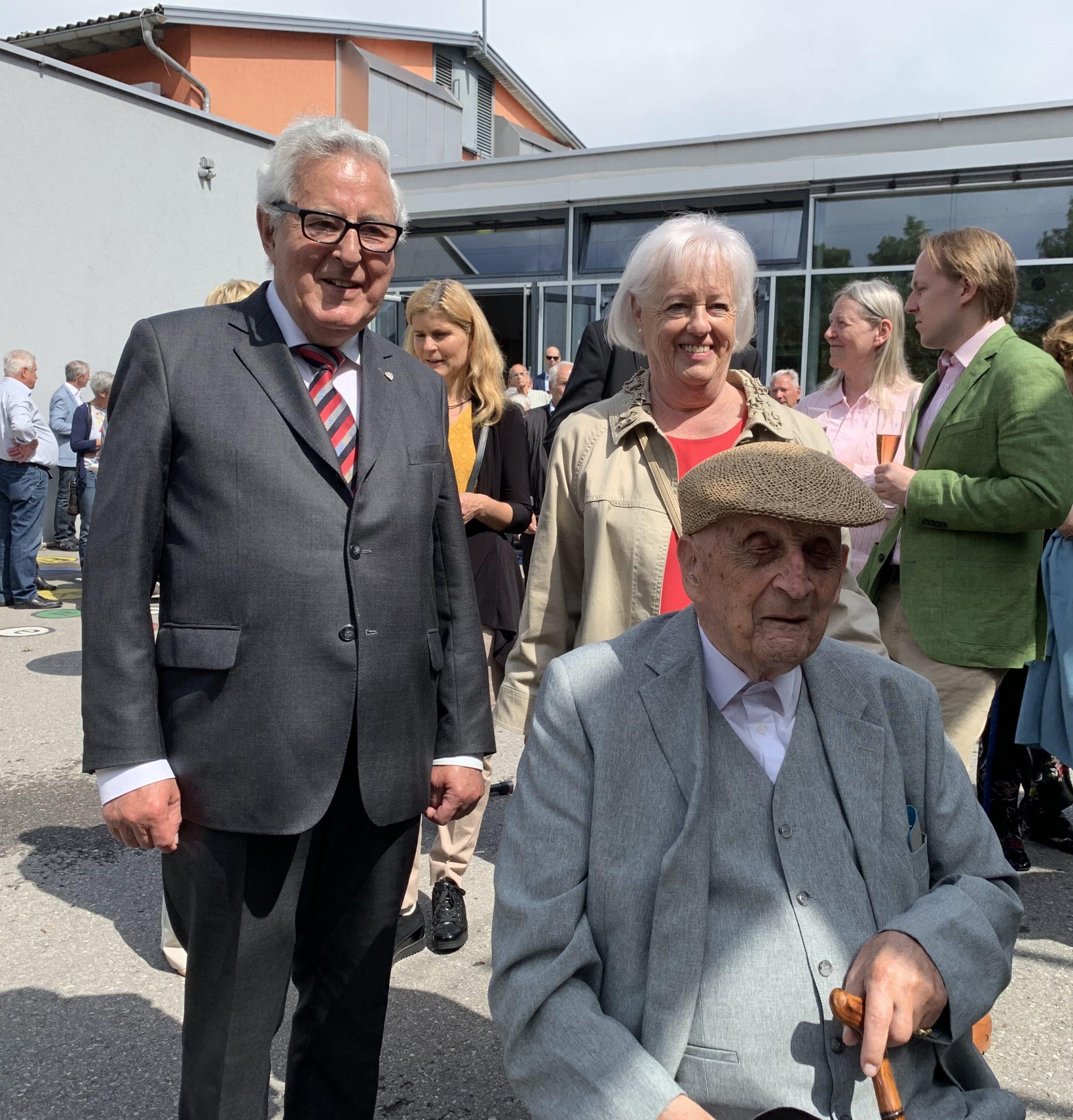 Gesund 100 Jahre alt zu werden ist Trumpf – Eugen Bawart von Sulz feiert seinen hundertsten Geburtstag