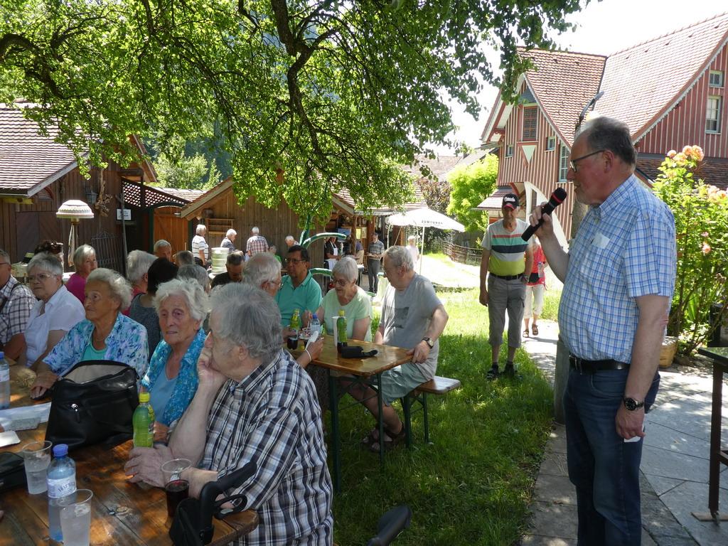 Grillnachmittag des Seniorenbundes Götzis