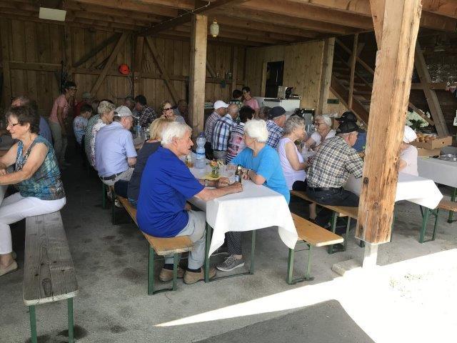 Gemütliches Grillfest im Luishof