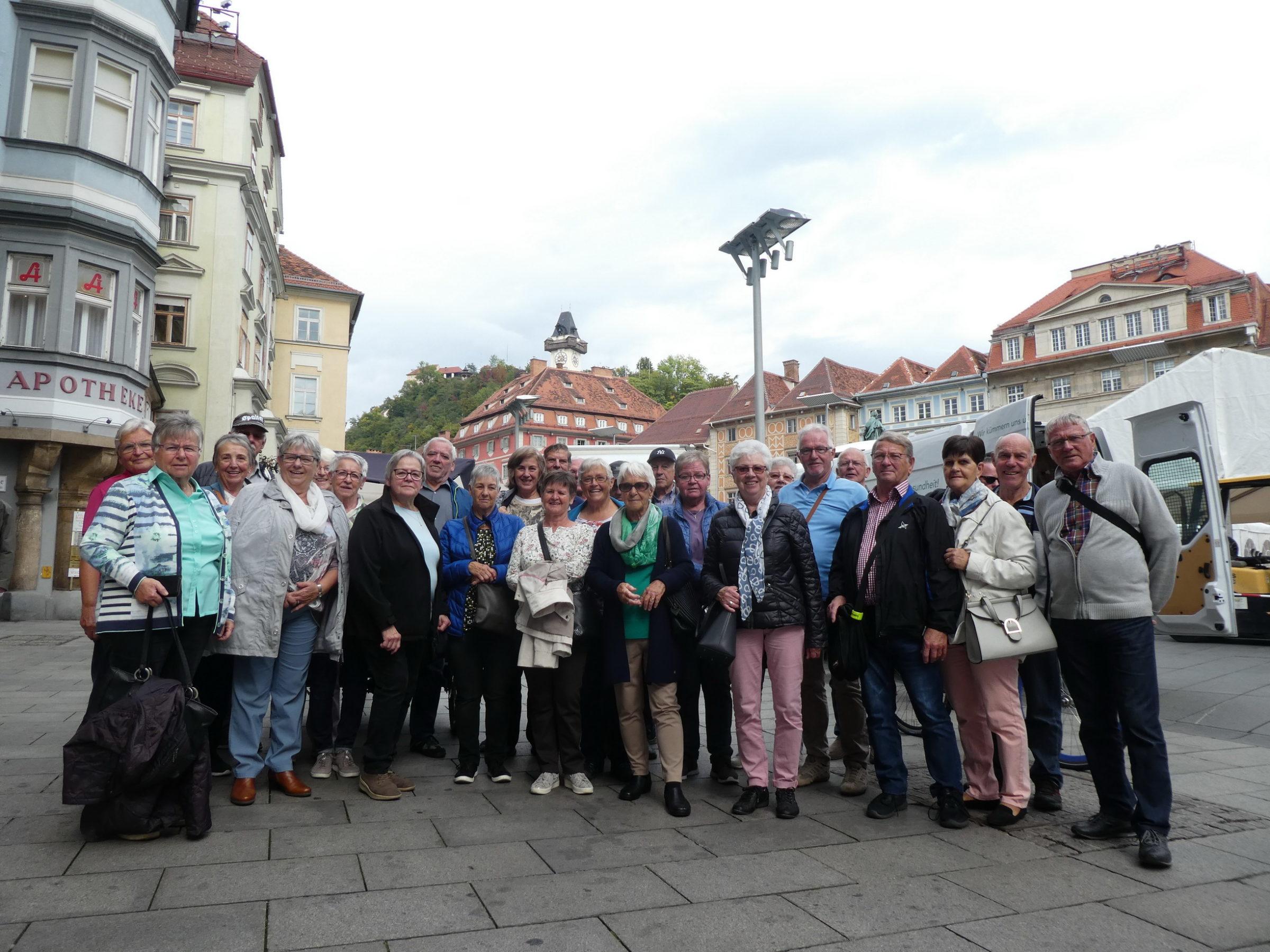 Mit dem Seniorenbund Koblach in der Steiermark