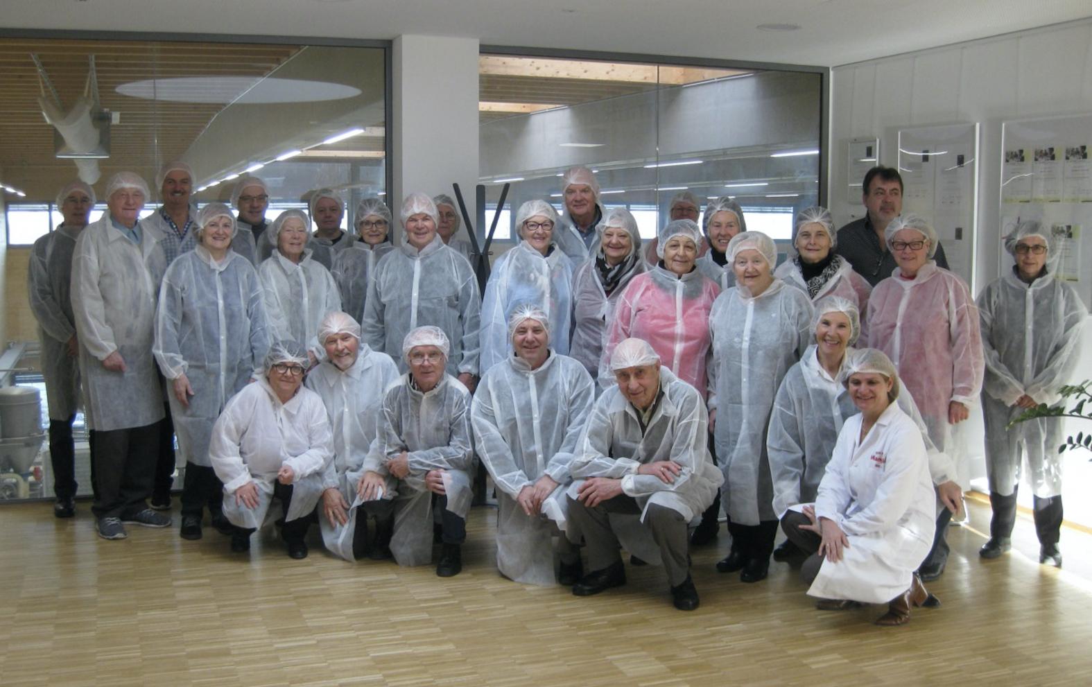 "Betriebsbesichtigung der ""Bäckerei MANGOLD Zentrale"""
