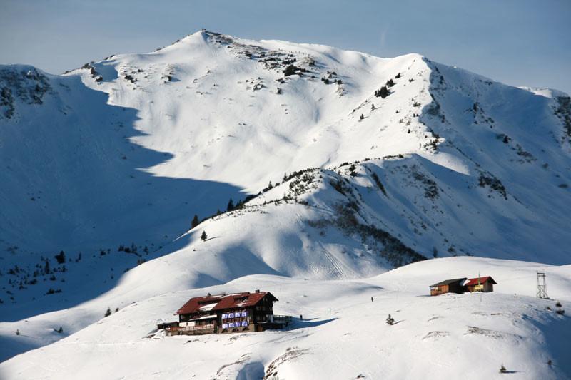 Winterwanderung Schwarzwasserhütte
