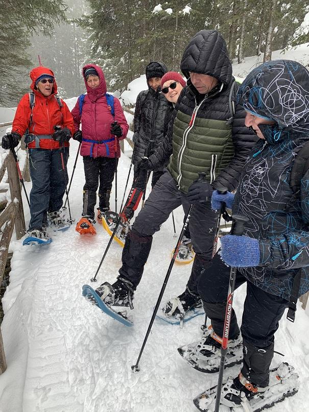 Schneeschuhwanderung in Gargellen - Image 24