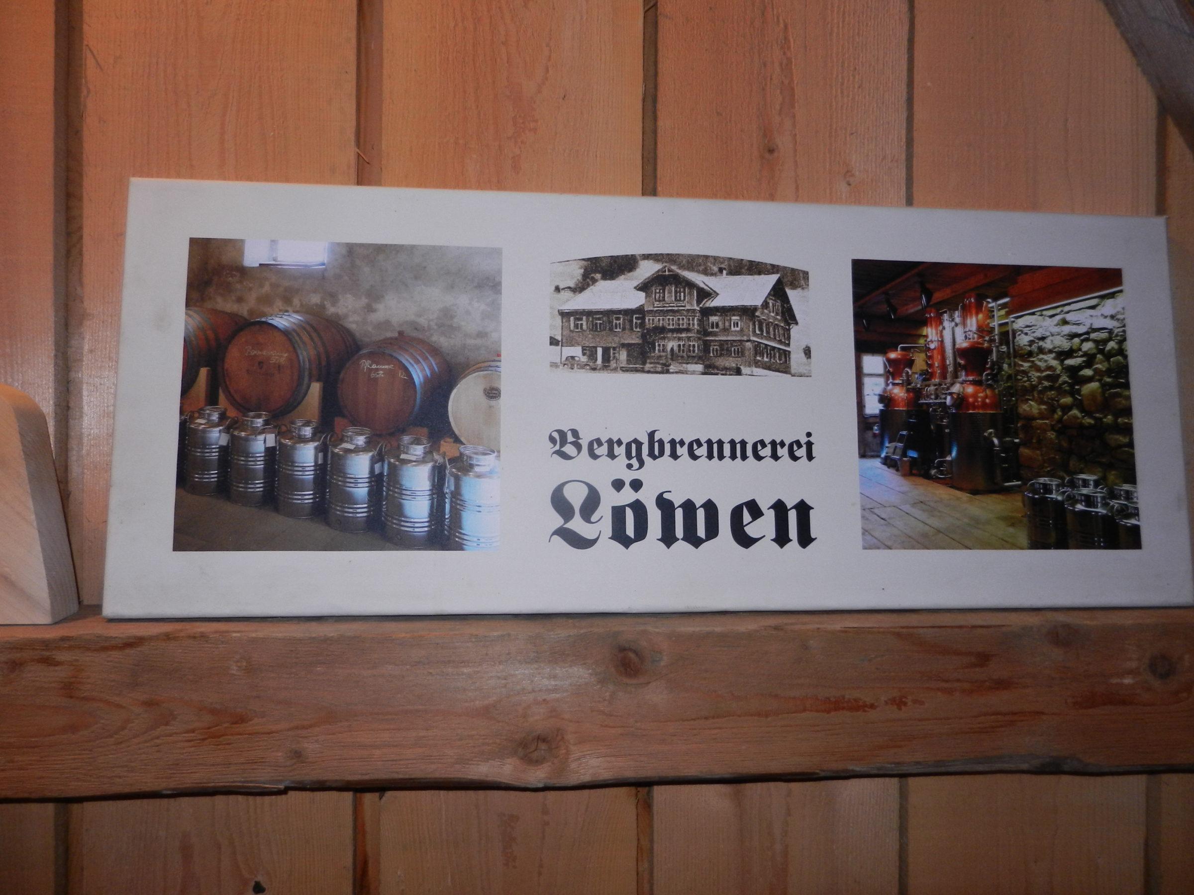 Bergbrennerei GH Löwen in Au-Rehmen am 17.6.2020