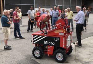 Betriebsbesichtigung der Firma LUF GmbH in Thüringen