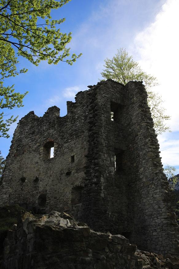 Burgruine Alt Ems - Slide 6