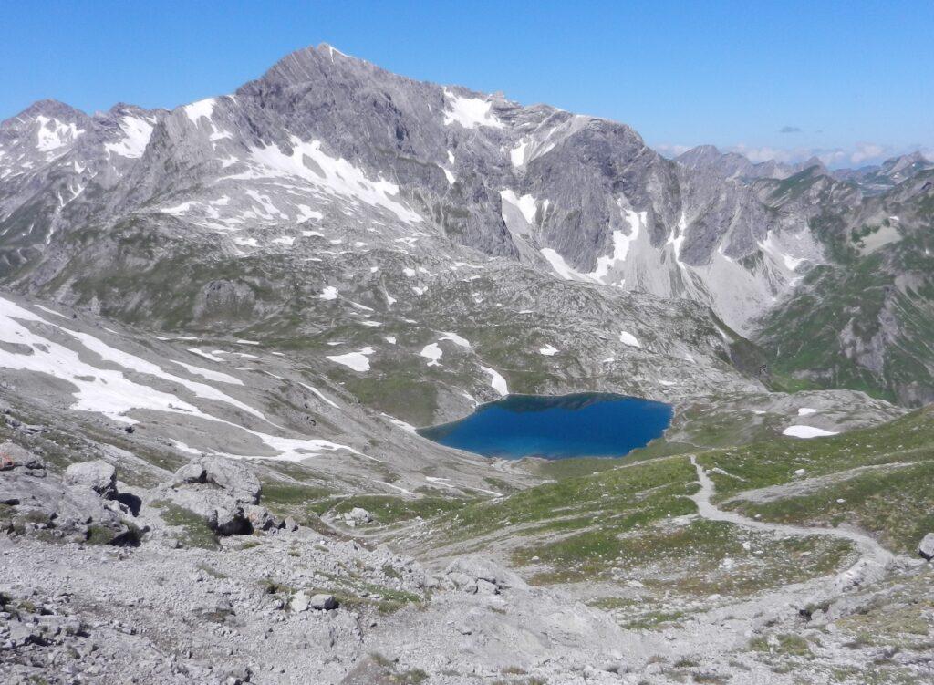 Bergwanderung zum Butzensee am 5.8.2020