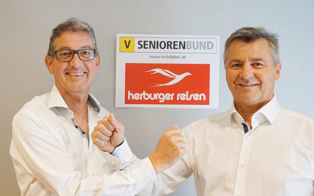 Neue Zusammenarbeit bei den Seniorenbund-Reisen
