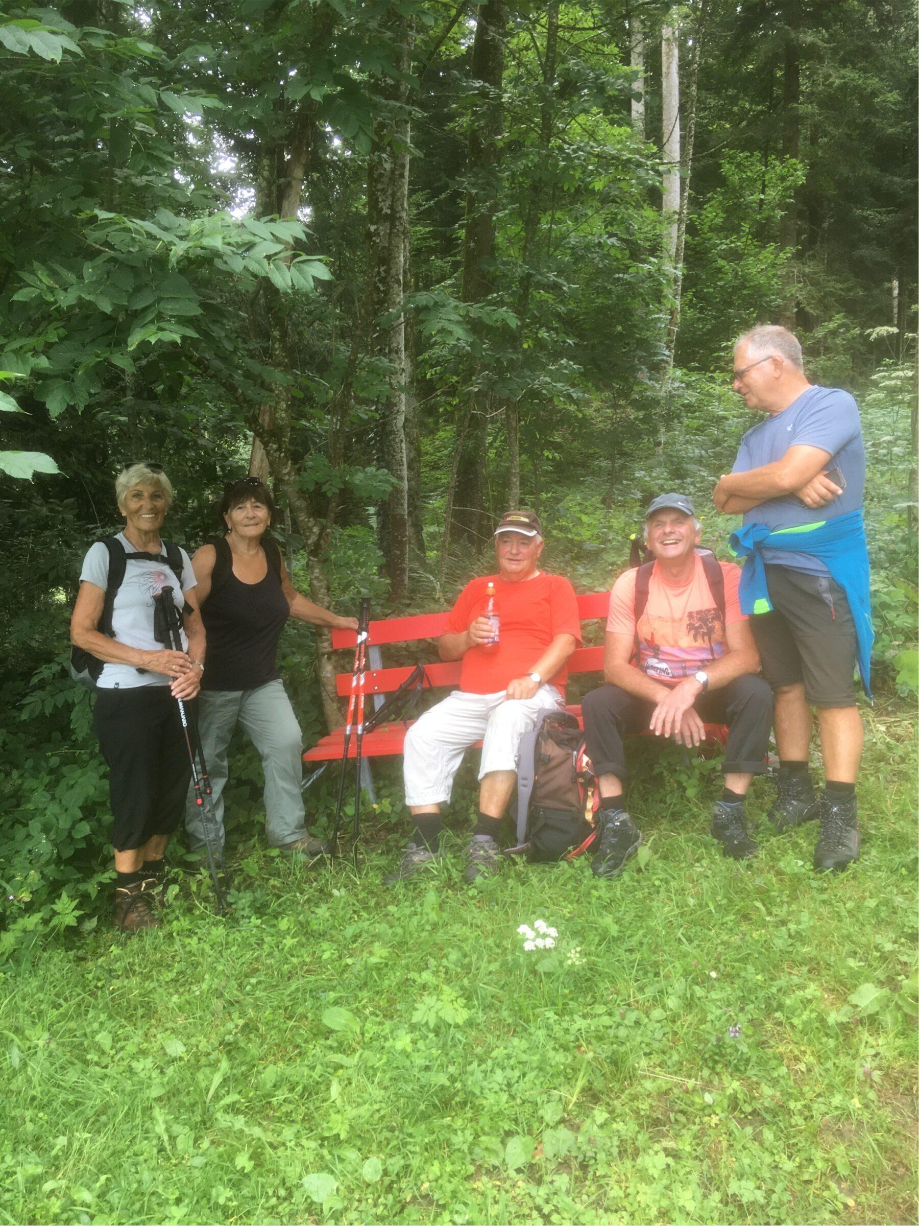 Wanderung am 29.07.2020 des Seniorenbund Rheindelta