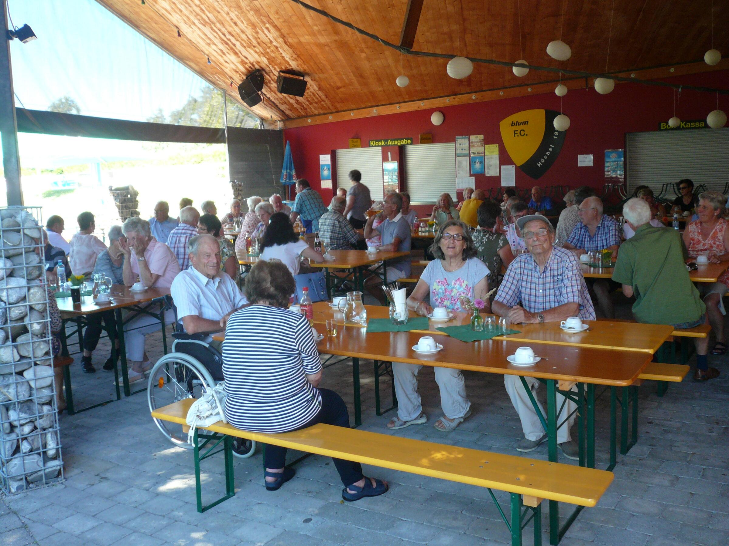 Grillnachmittag des Seniorenbundes Höchst
