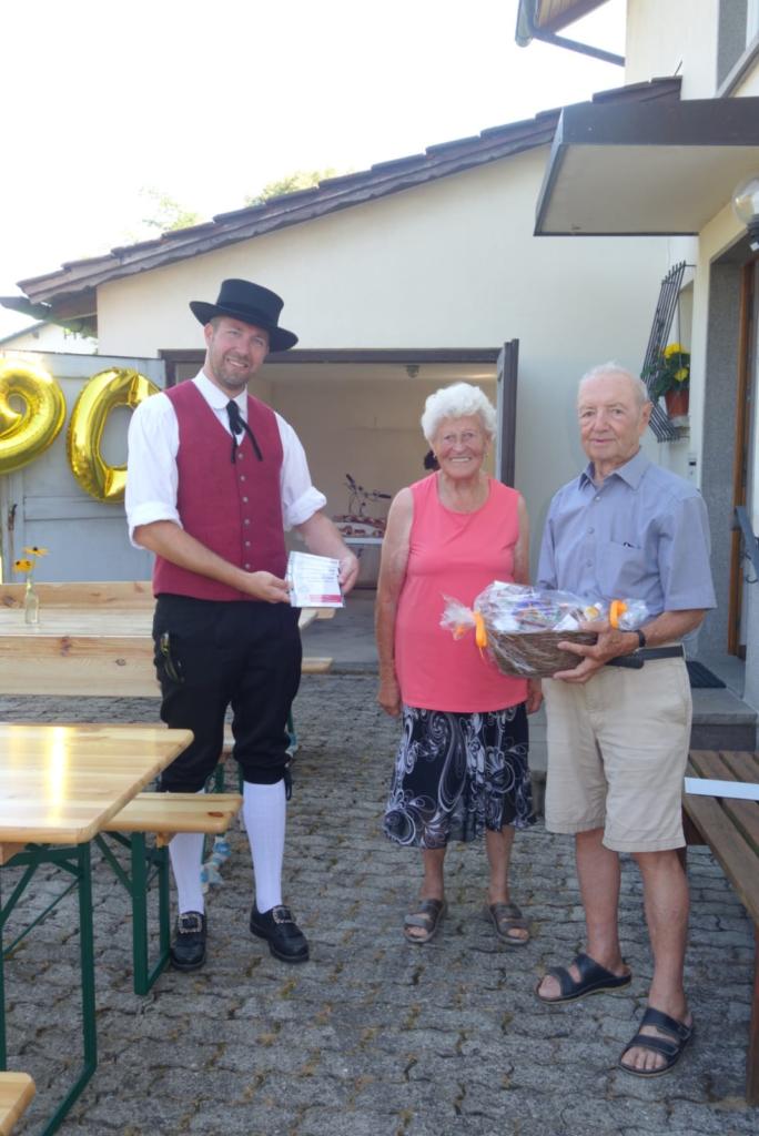 90-ster Geburtstag von Ehrenobmann Rudolf Wörz