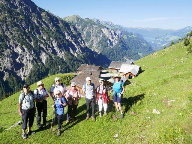 Wanderung Biberacher Hütte