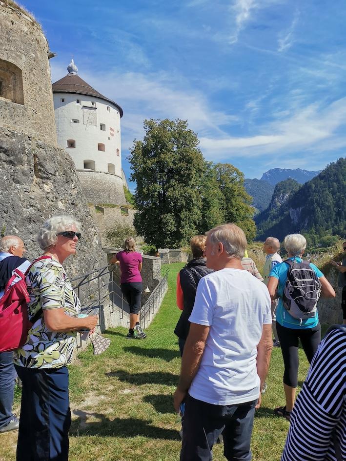 Seniorenbund Bregenz auf Radtour im Tiroler Inntal - Image 15