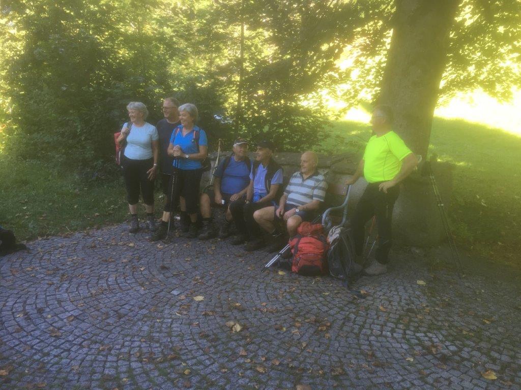Wanderwoche des Seniorenbundes Rheindelta