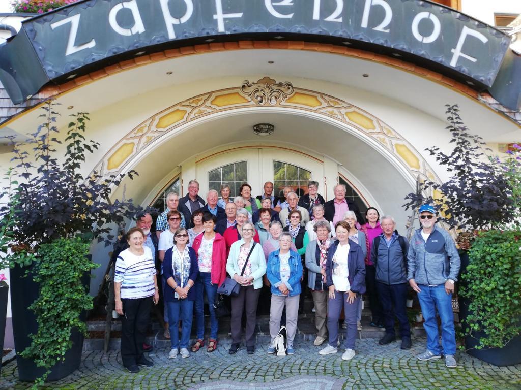 Wanderwoche Zillertal vom 31. 8. bis 4. 9. 2020