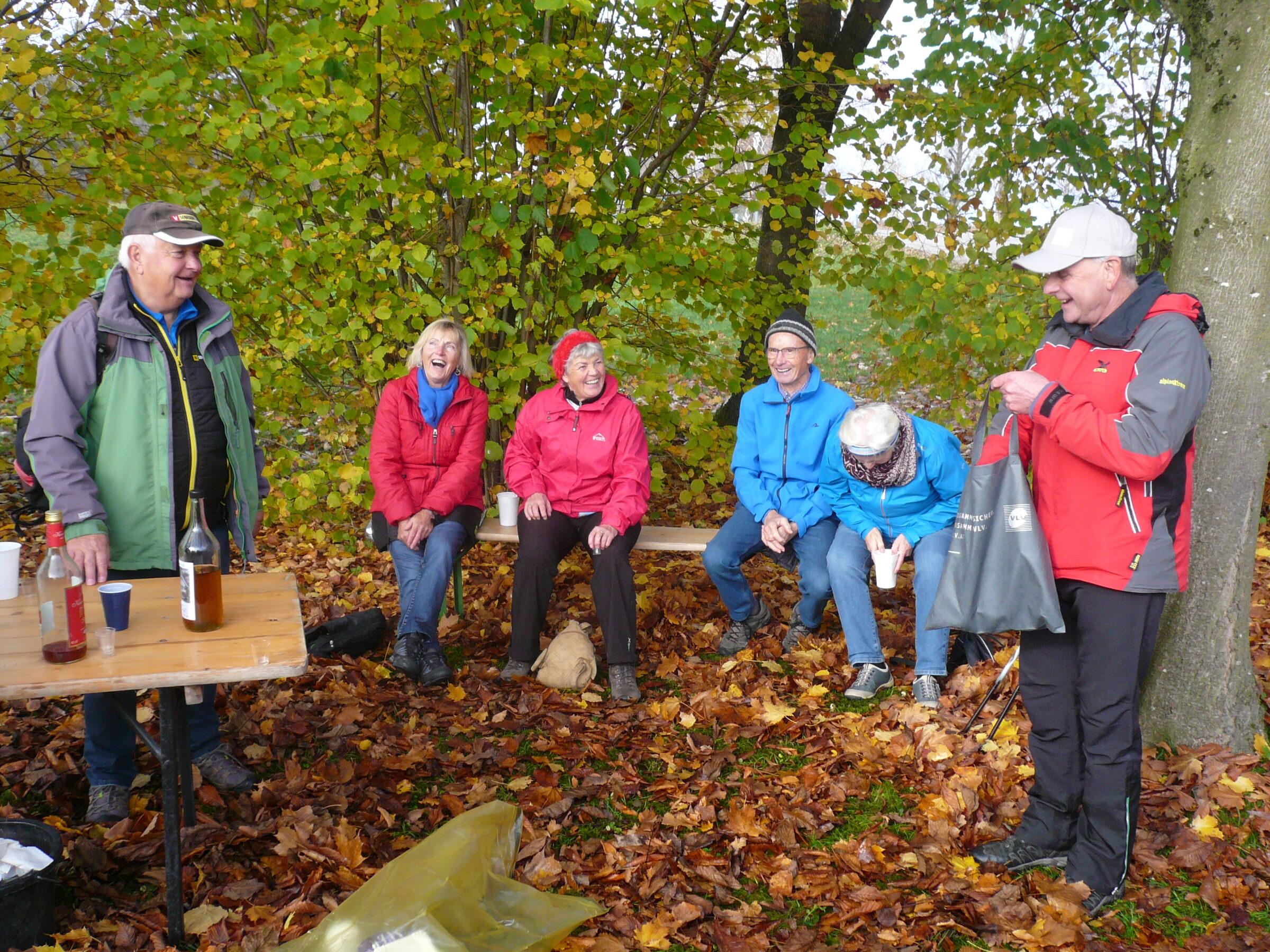 Abschlusswanderung des Seniorenbundes Rheindelta in das wunderschöne Naturschutzgebiet.