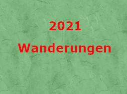 Wanderungen 2021