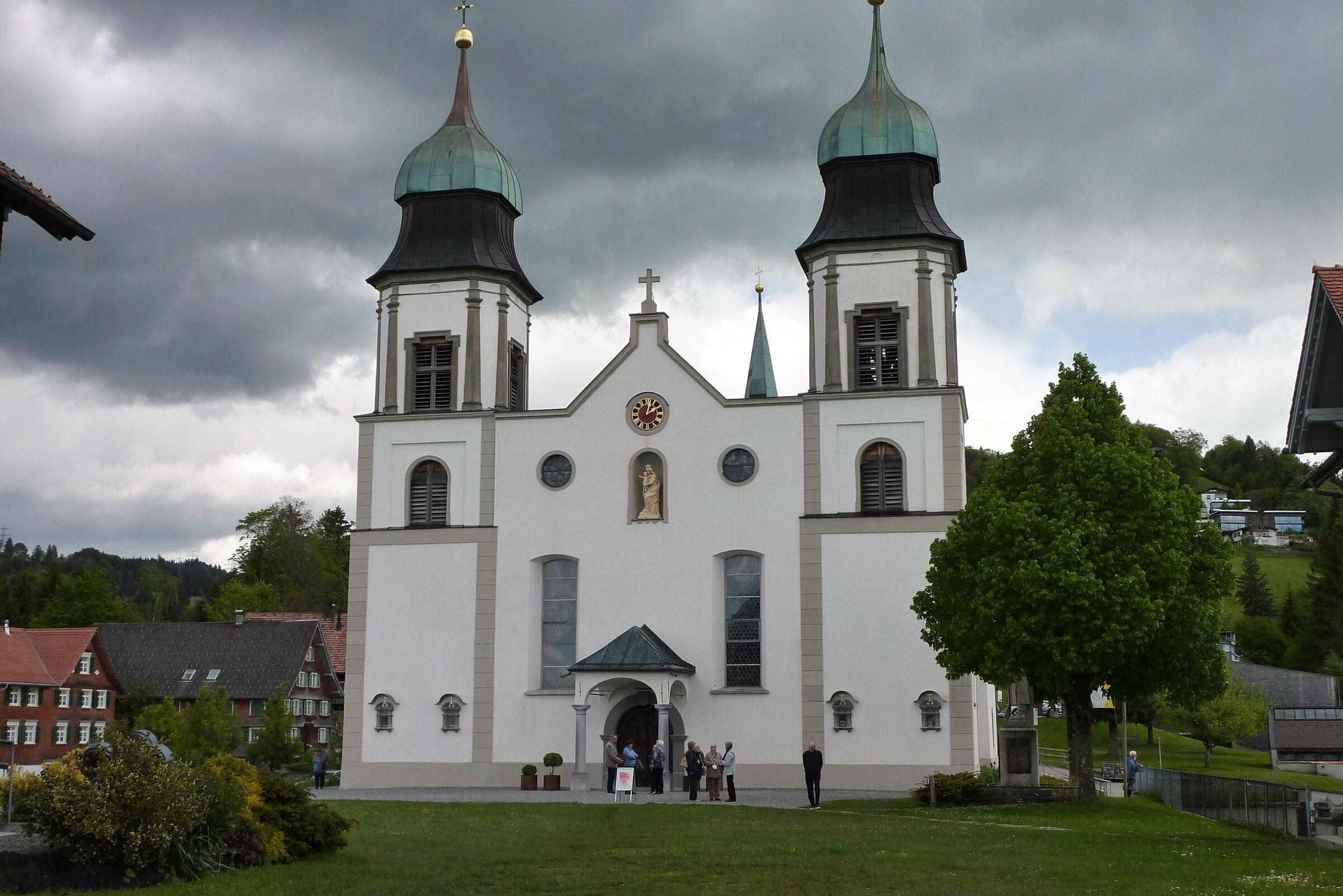 Maiandacht in der Basilika Bildstein