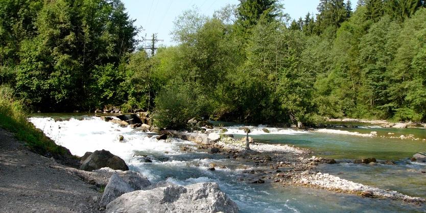 Radtour von Oberstaufen nach Oberstdorf