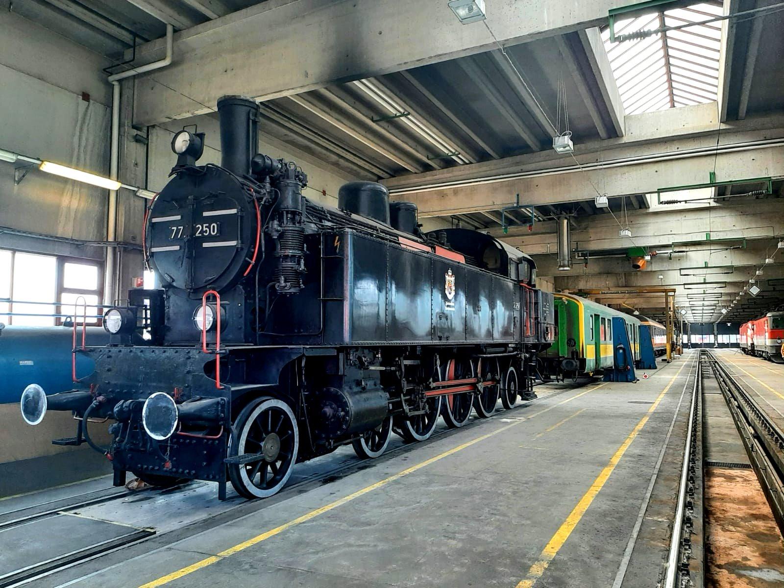 Interessanter Ausflug zum Güterbahnhof Wolfurt mit anschließendem Hock im Subirerhof in Schwarzach
