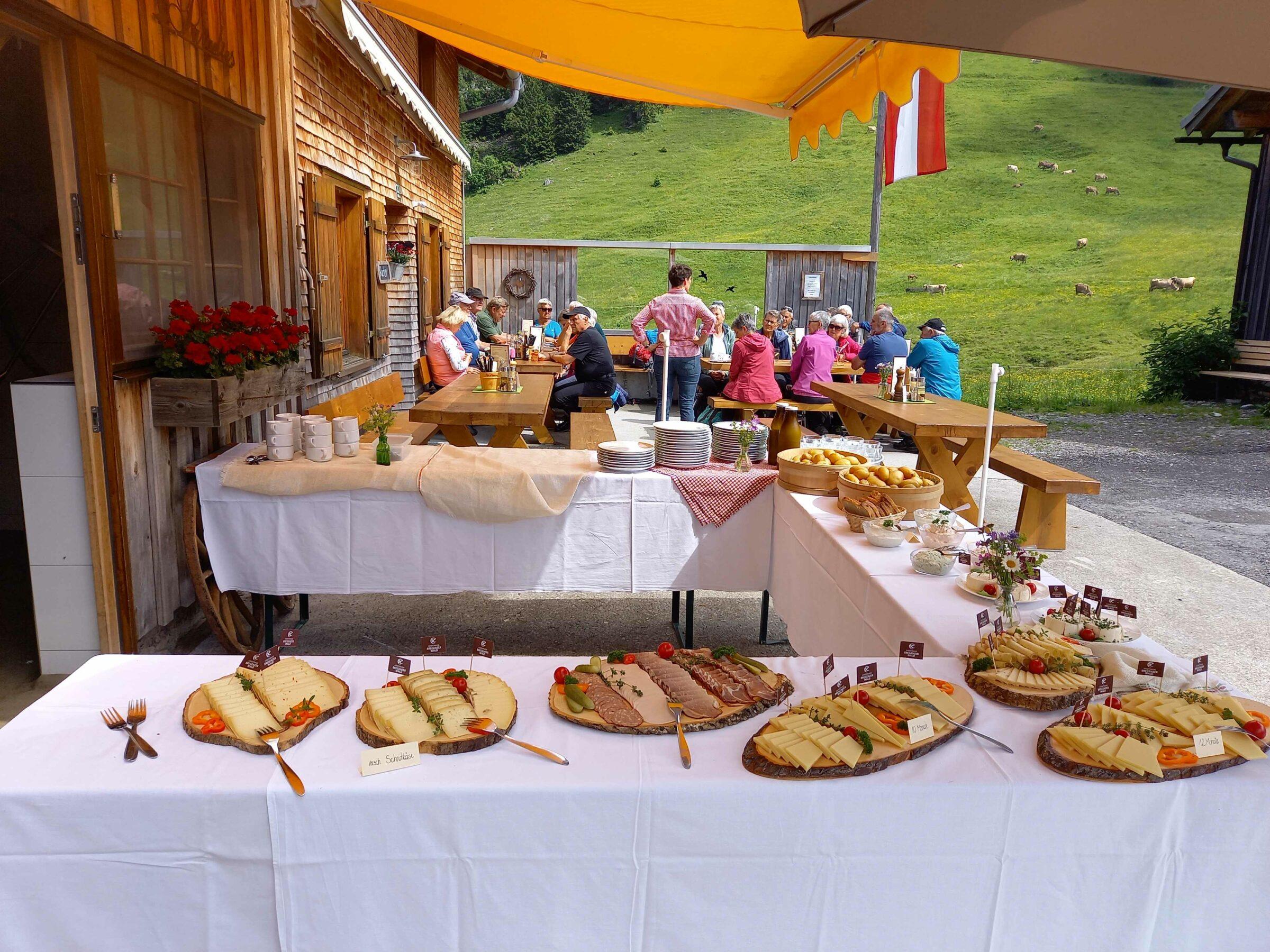 Wanderausflug zur Alpe Kassa-Wildmoos am Freitag, 2.7.2021.