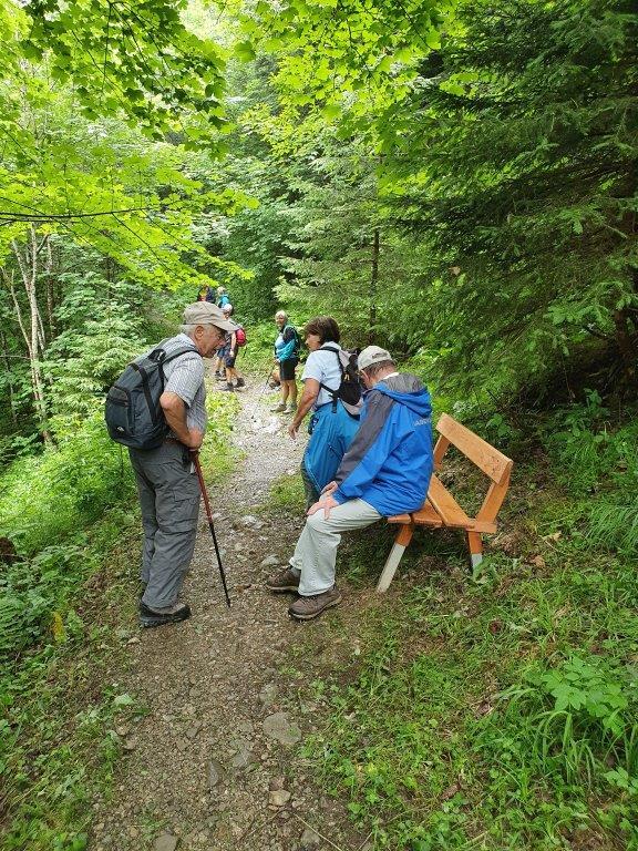 Wanderung Seniorenbund Rheindelta zur Sarotla Hütte