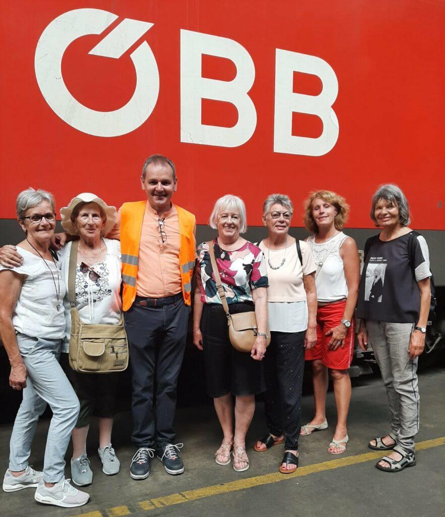 Interessanter Ausflug zum Güterbahnhof Wolfurt