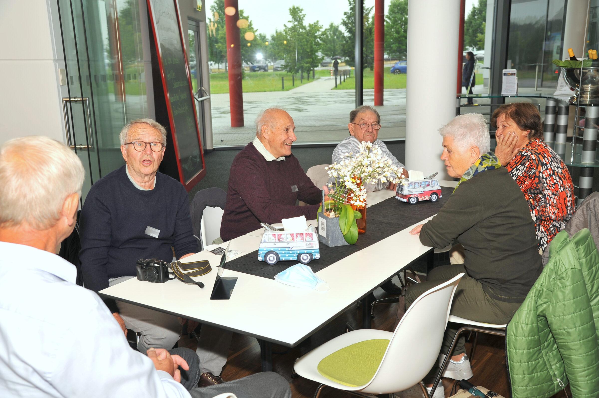 Tagesreise des Seniorenbund Höchst zum Erwin Hymer Museum bei Bad Waldsee