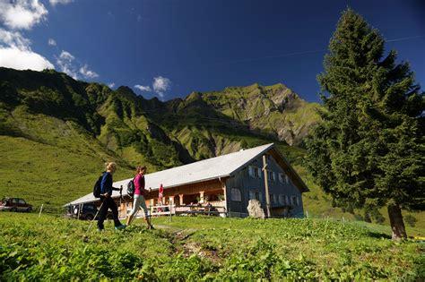 Einladung zum Ausflug auf die Alpe Felle, Schröcken