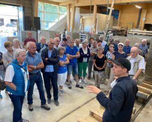 Betriebsbesichtigung Lehmbaukunst Rauch in Schlins
