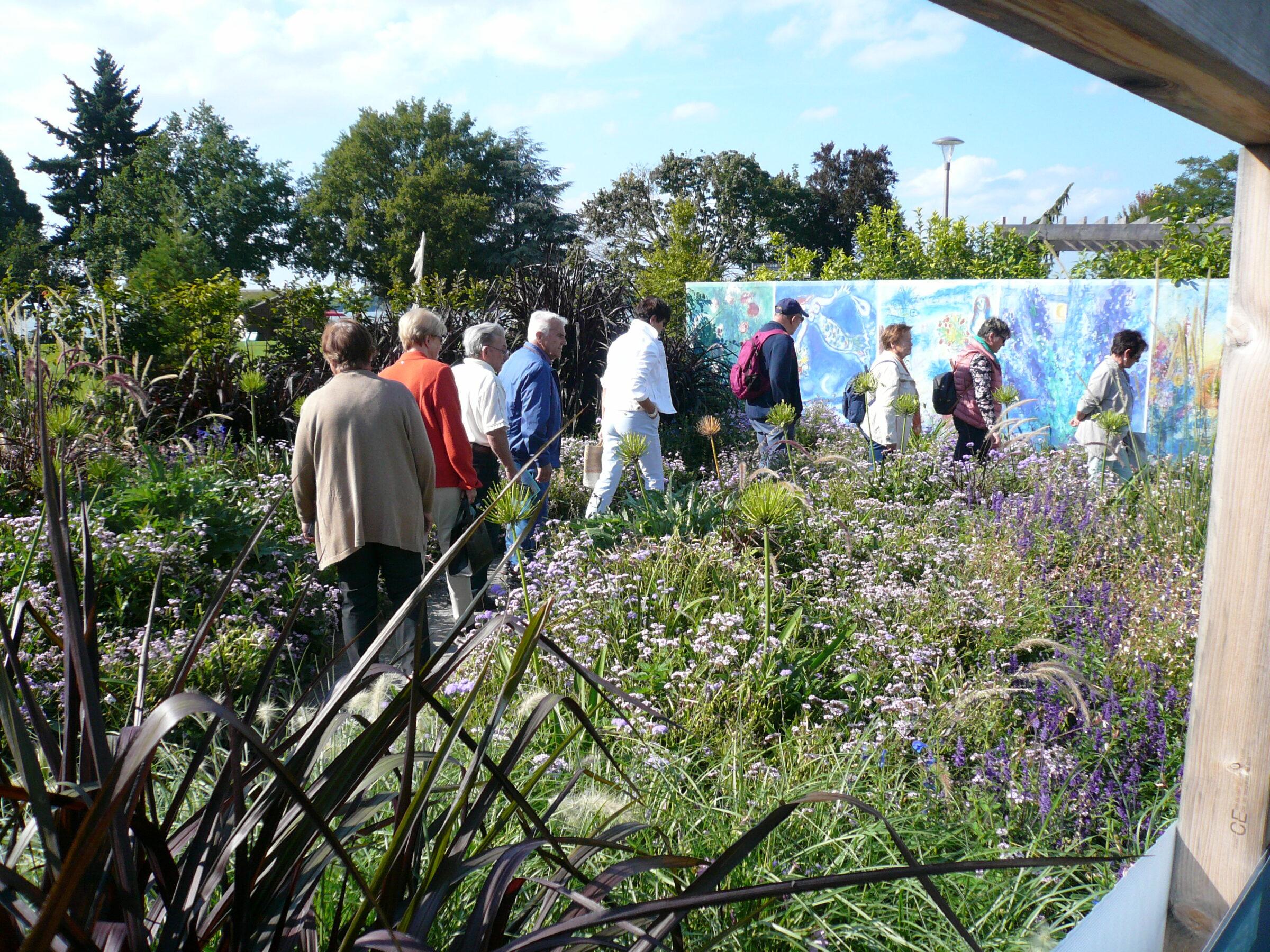Gartenschau in Lindau, ein wunderschöner Ausflug unserer Tanzgruppe